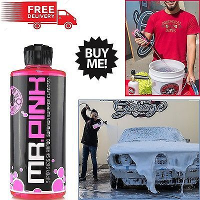 Car Wash Soap Equipment Snow Foam Jet Washer Auto Motor Shampoo Cleanser Pink
