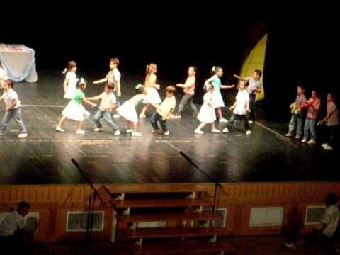 Baile Fin de Curso 5 años Colegio Jose de Espronceda - YouTube