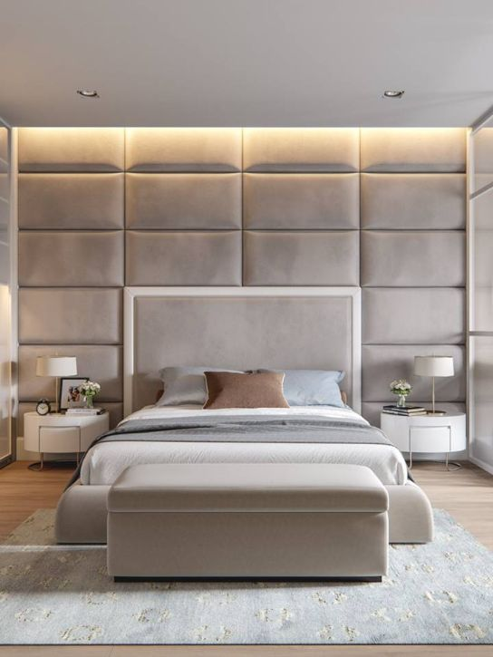 Elegant Bedroom Wall Designs