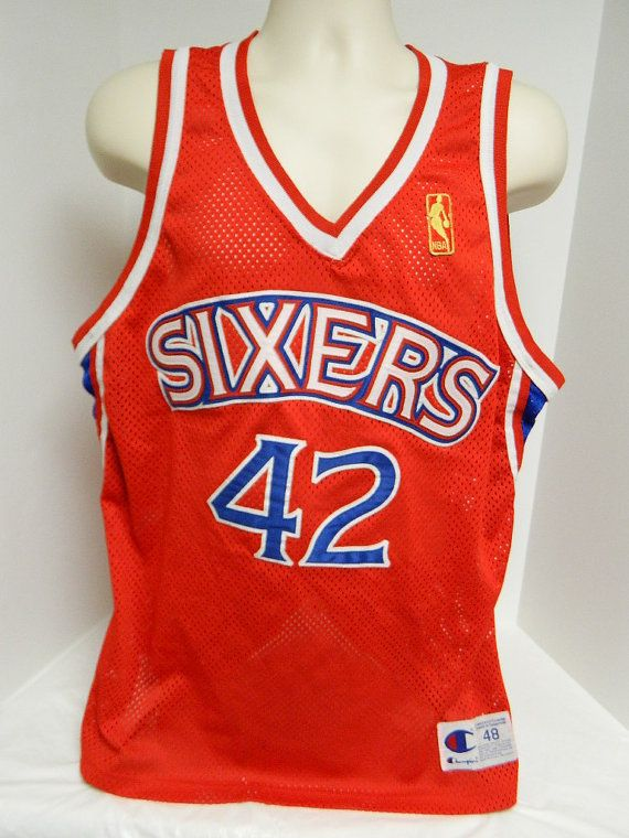 80s 90s Champions Sixers Stackhouse 42 NBA Jersey by BeyondLeaf @etsy @ebay #etsy #champions #stackhouse #sixers #76ers #nba #basketball #hoops #champ #vintage #follow #share