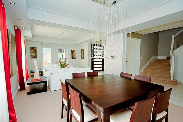Skye's open plan living dining area is great for entertaining