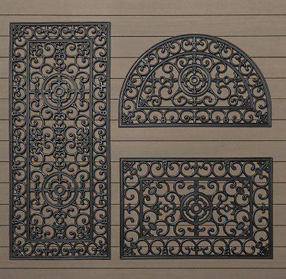 Delightful Doormats   Restoration Hardware