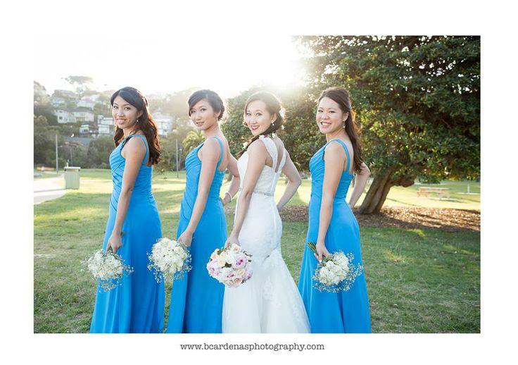 The Gorgeous bridesmaids - Angela & Josh Wedding - Bianca Cardenas Photography