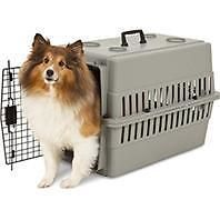 Other Pet Supplies 301: Petmate 684677 Aspenpet Traditional Plastic Kennel - Gray - 26 Inch -> BUY IT NOW ONLY: $49.85 on eBay!