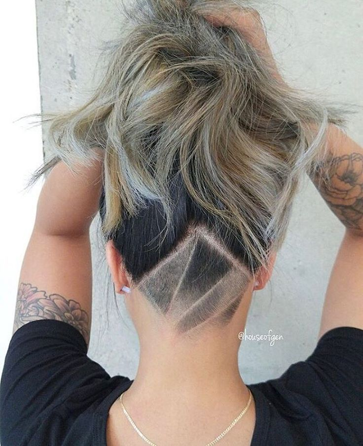 Image Result For Shave Designs Diy Undercut Hairstyles