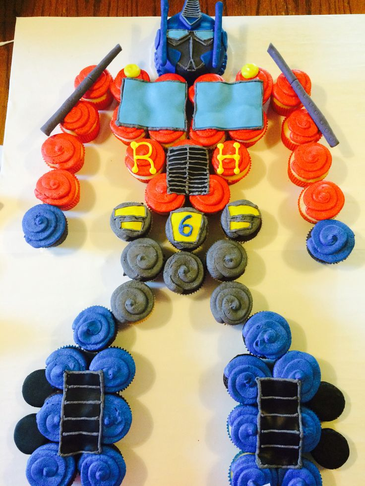 transformer cake ideas 25 best ideas about robot cupcakes on robot 8051