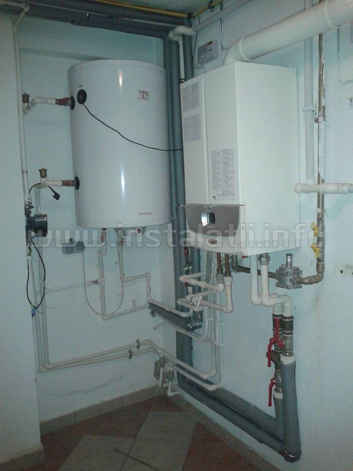 Instalare centrale termice pe gaz in Eforie