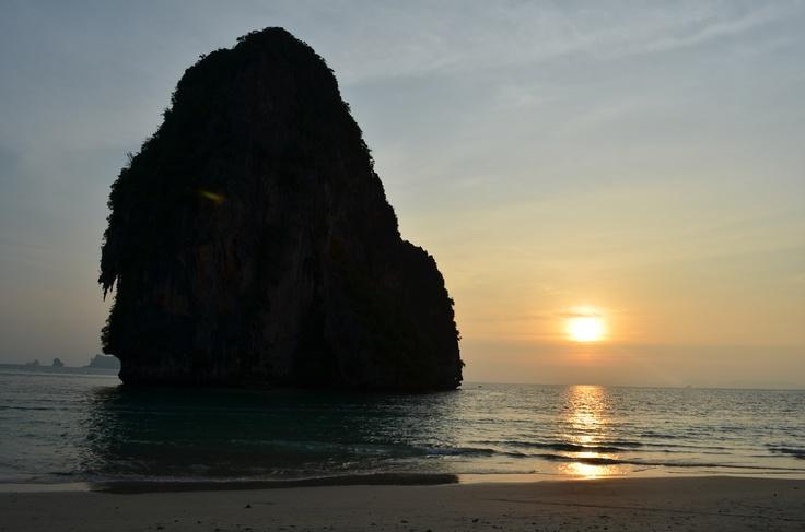 Sunset @ Railay Beach