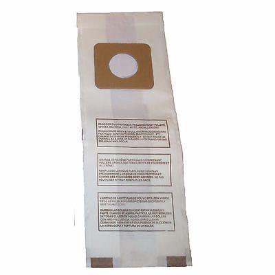 Vacuum Cleaner Bags 20618: Panasonic Vacuum 2 Ply Bags Type U U3 U6 Vac Style 409979 Mc-115P Mc-V145m Vac -> BUY IT NOW ONLY: $48.12 on eBay!