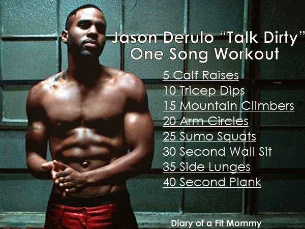 "Jason Derulo ""Talk Dirty"" One Song Workout"