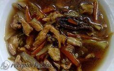 Csípős-savanyú leves recept fotóval