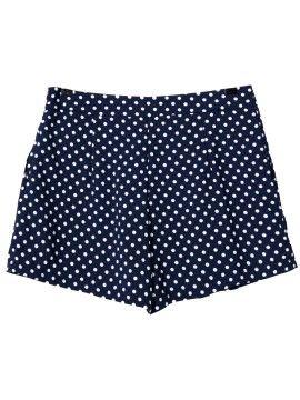 Shop Blaue Tupfen Shorts from choies.com .Free shipping Worldwide.$10.99