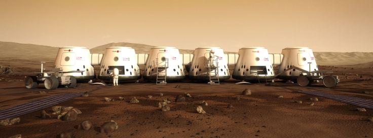Mars One colony rendering