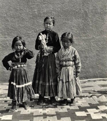 Navajo children - circa 1920