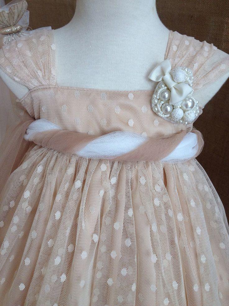 Pupetta baptism, christening dress