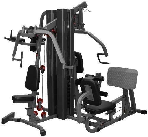 Home Exercise Equipment Price: XMark Fitness 4-Station Home Gym (16-Piece Set)