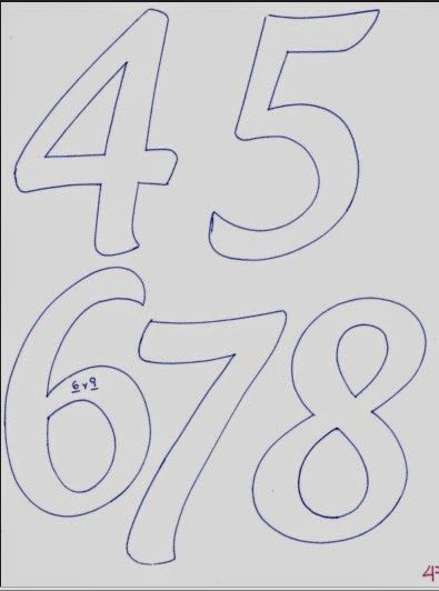 Abecedario de letras mayúsculas alargadas - Fomiart