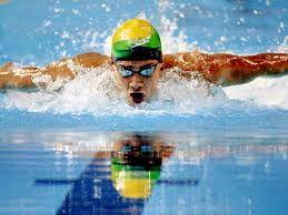 Resultado de imagem para olimpiadas natação brasilo