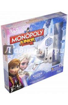 Игра Монополия JUNIOR «Холодное сердце» (В2247121)
