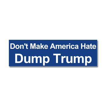 Dump trump car magnet 10 x 3 election 2016 bumper stickers magnets funny and political bumper stickers