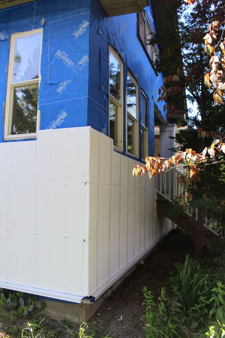 Exterior Rehab Of A Bungalow In Oak Park IL Originally Built The Architects Chose To Insulate With InSoFast EX Panels