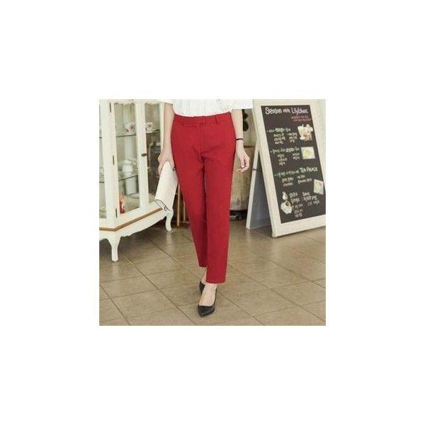 Dress Pants ($51) ❤ liked on Polyvore featuring pants, women, slacks pants, brown pants, suit trousers, dress trousers and brown dress pants