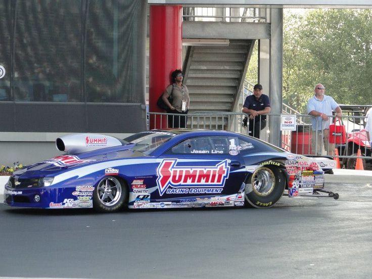Jason Line's NHRA Summit Racing Pro Stock Chevrolet Camaro