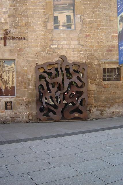 Pia Almoina, plaça de la Catedra. Barcelona