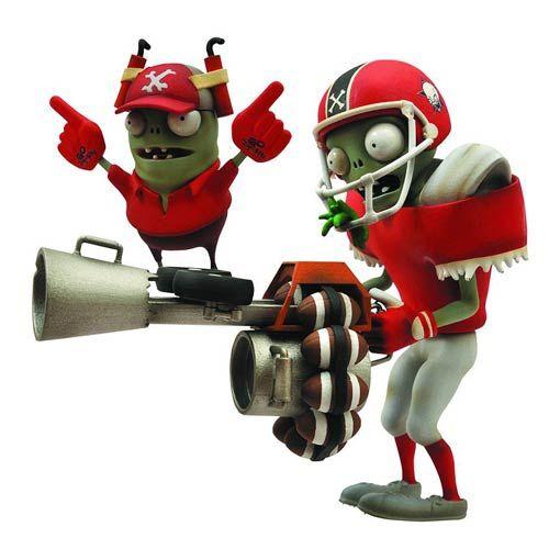 Plants Vs Zombies Garden Warfare All Star Zombie Figure Boys Their Toys Pinterest