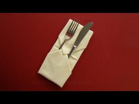 Die besten 25+ Napkin folding pocket Ideen auf Pinterest - servietten falten tischdeko esszimmer