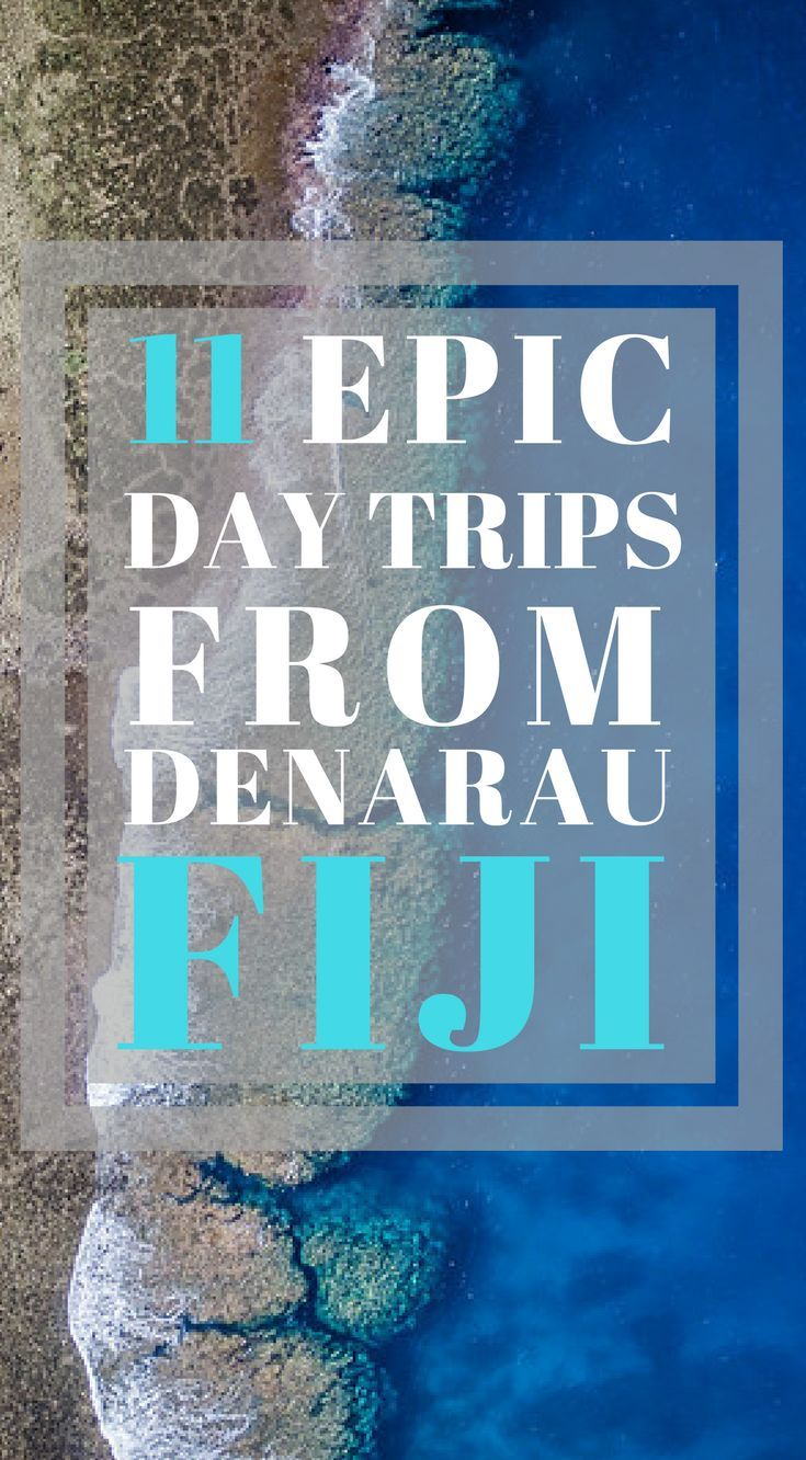 11 Epic Day Trips from Denarau, Fiji. To applaud your brilliant choice of picking Denarau as your next holiday destination, here are 11 epic day trips from the island that you can look forward to during your stay at Denarau Fiji. Click to read more. #Fiji #Adventure #Travel #Denarau