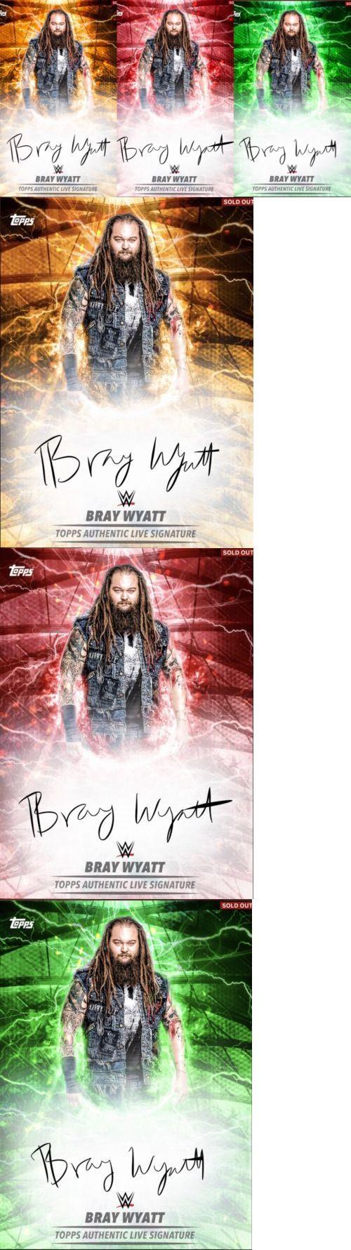 Wrestling Cards 183435: Topps Wwe Slam Digital Live Signature Bray Wyatt Lot 3 -> BUY IT NOW ONLY: $34.99 on eBay!