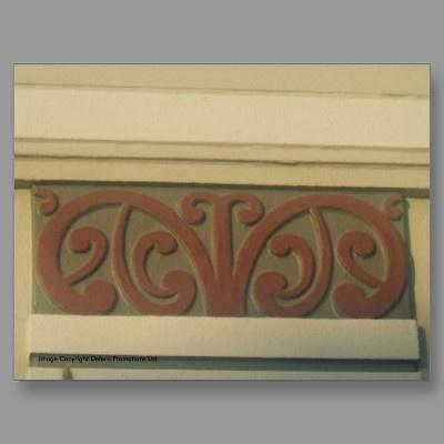 Maori Motif  Art Deco  Napier
