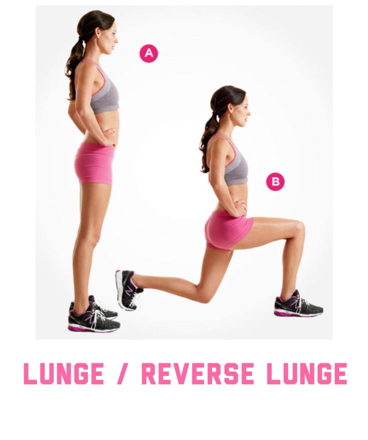 Lunge / reverse lunge