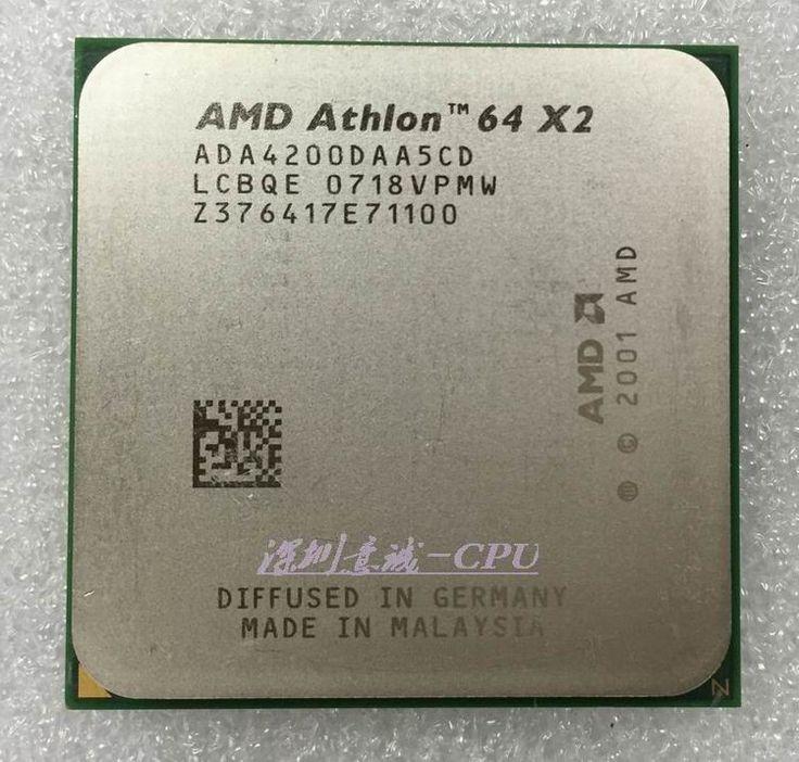 4200+ 939-pin CPU Athlon 64 X2 4200 Socket 939 2.2G Desktop Processor ADA4200DAA5CD Desktop CPU scrattered pieces