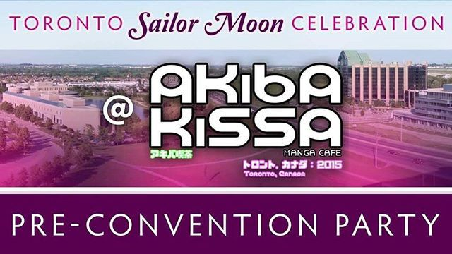 """Hey Sailor Scouts! We're gearing up for the Toronto Sailor Moon Celebration and we're so excited that we're going to have a pre-convention party at Akiba Kissa Manga Cafe in Markham!  Meet some of our team at Akiba Kissa on Sunday, June 18th for all sorts of fun and activities. We'll be screening episodes of Sailor Moon Crystal, plus there will be the usual fun offerings of Akiba Kissa including video games, board games, and a large manga library! There's also a rumour going around that…"