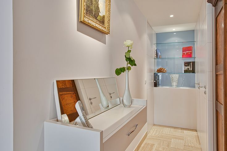 Appartement - Annecy - Mobilier sur mesure - Vitrine - Interior