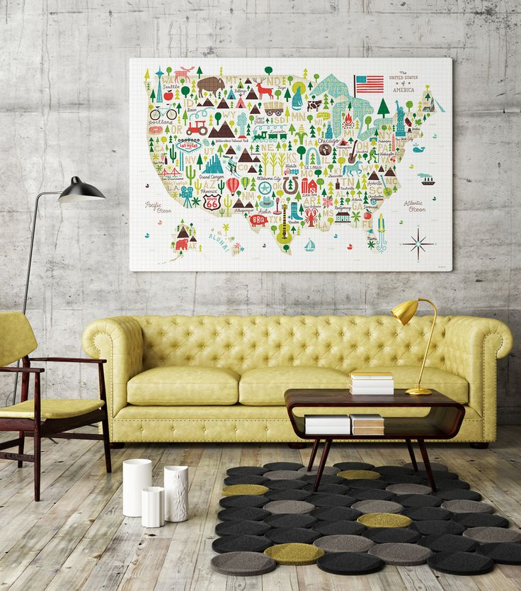 Maps And Travel Inspired Art Reminds Us To Get Out Live Life The