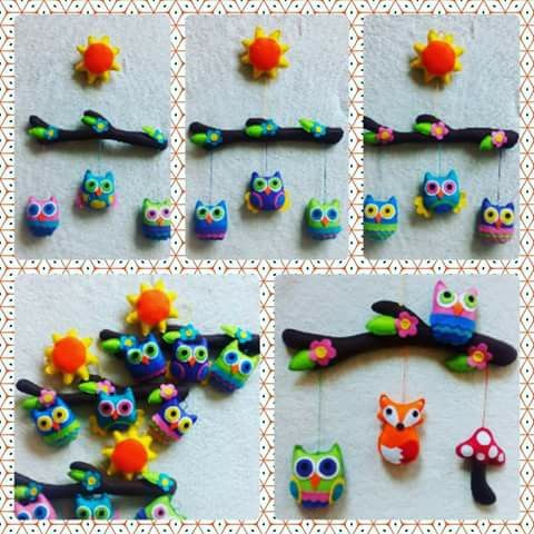 Forest friends babymobile