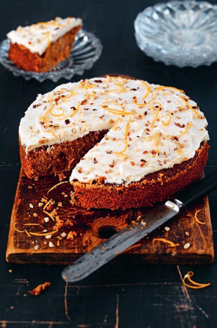 Lyxig glutenfri morotskaka. En lyxig och smakrik kaka med nötter och naturlig sötning. #glutenfri #paleo