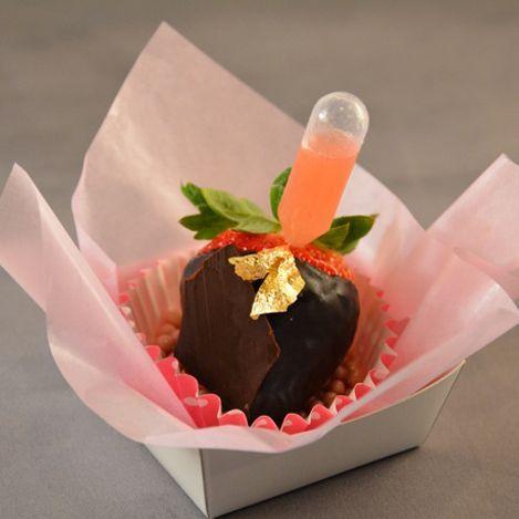 how to make liquor chocolate covered strawberries