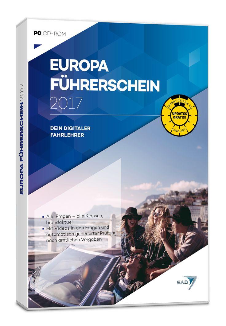 Europa Führerschein 2017: Dein digitaler Fahrlehrer. Der Europa Führerschein 2017 von S.A.D. versetzt den Fahrschüler in die Lage, alle Fragen der theoretischen Prüfung schon vorher zu kennen und diese entsprechend zu lernen. Somit kann eigentlich kaum mehr etwas schief gehen.
