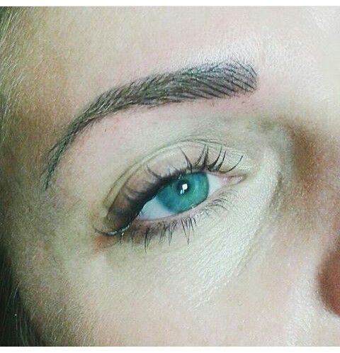 Sopraccigliatatuate sopracciglia naturali realistich eyebrows permanent makeup