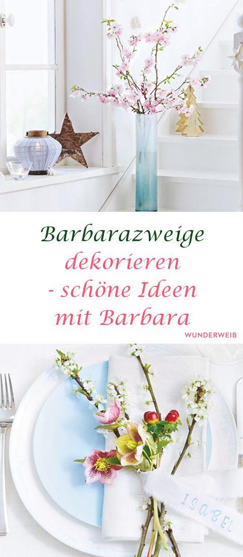 Lovely Barbarazweige: Eine Bezaubernde Idee Für Die Vorweihnachtszeit!