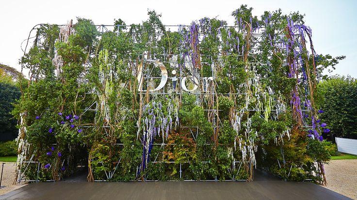 Christian Dior RTW SS14 Jardin du Musée Rodin Produced and directed by Bureau Betak | Installation