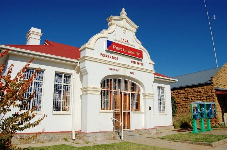 Vredefort post office was built in 1904 and is still in perfect condition.