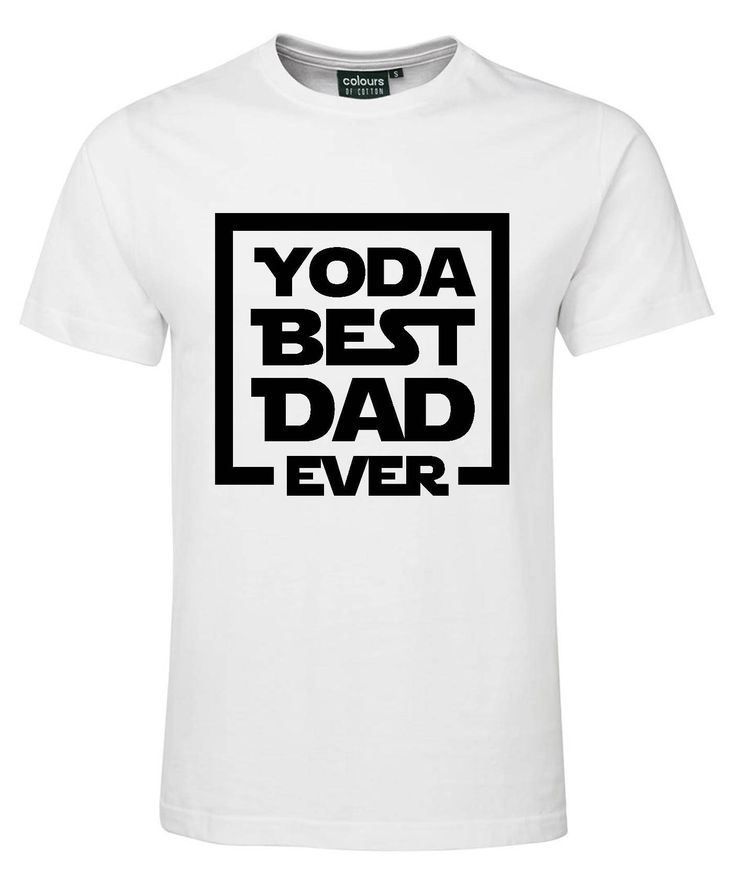 Yoda Best Dad Ever Father's Day Shirt by HeroesAndPrincesses on Etsy