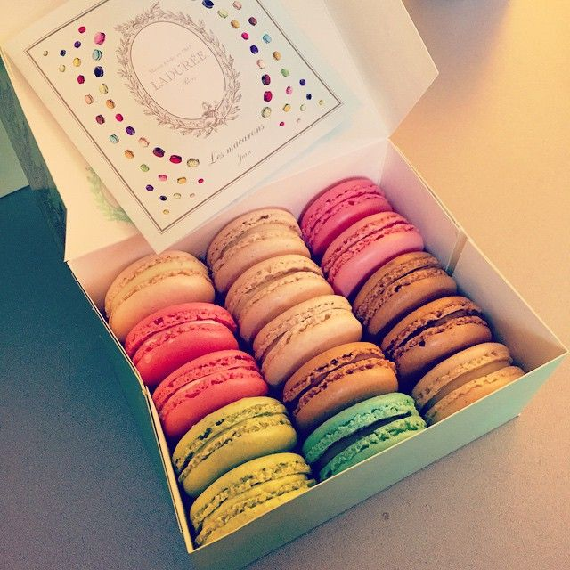 #macaron #dessert #Laduree #Paris #foodies