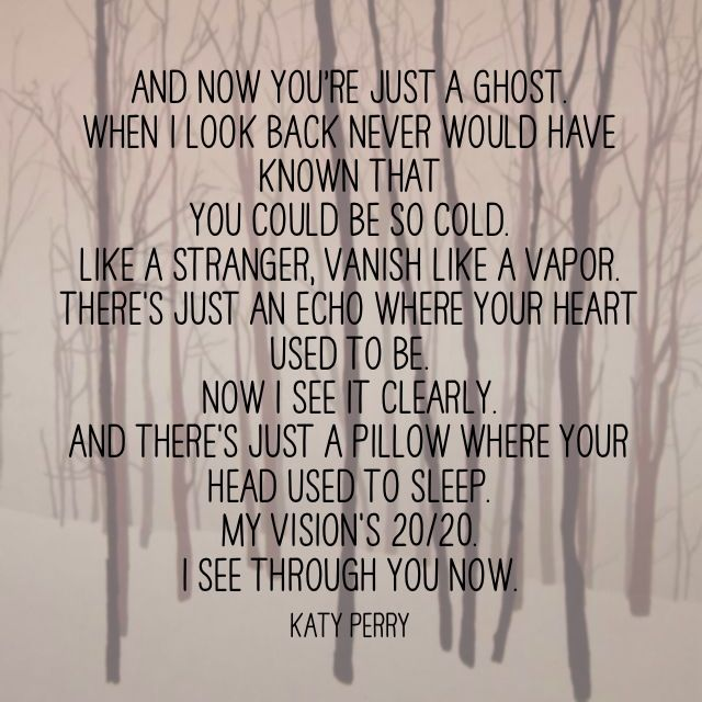 Katy Perry-ghost <3
