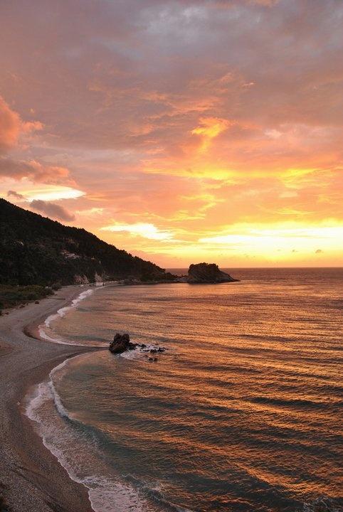 Samos island, potami beach